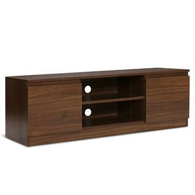 AU120.95 • Buy Artiss TV Stand Entertainment Unit With Storage - Walnut