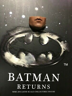 $ CDN38.05 • Buy 1/6 Hot Toys Batman Returns Batman MMS293 Lower Face #1 *US Seller*