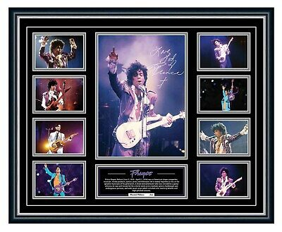 AU99.99 • Buy Prince Purple Rain Signed Limited Edition Framed Memorabilia