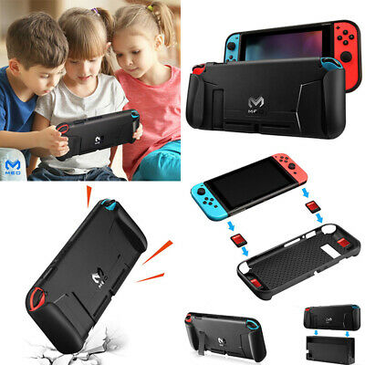 AU13.39 • Buy Soft TPU Protective Case Cover Cap For Nintendo Switch NS Console Handle Grip