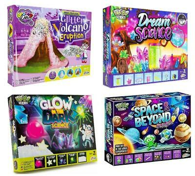 Kids Science Experiment Kits Glitter Volcano Eruption Space Educational Toy • 7.89£