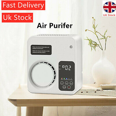 View Details HEPA Ozone Air Purifier Ioniser Cleaner For Smoker Bacteria Odors Cook Pollen • 33.95£
