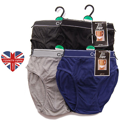 Mens Classic Slip Briefs, Hipster Y-front, Pants, Soft Feel, Size S-2xl • 5.99£