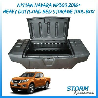 Heavy Duty Load Bed Toolbox - Storage - Middle Open For Nissan Navara Np300 16+ • 284£