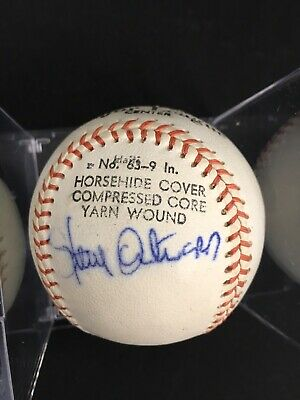 $ CDN1.31 • Buy  Steve Ontiveros Signed Ball CUBS AUTO BASEBALL With Case