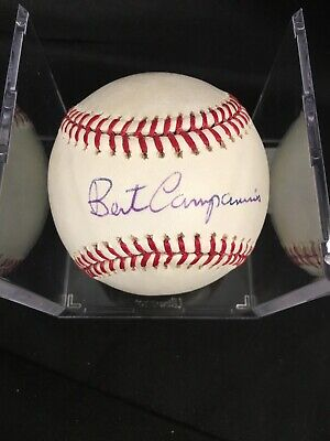 $ CDN1.31 • Buy BERT CAMPANERIS ATHLETICS 1967 Star Signed Baseball Auto