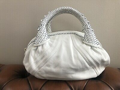 AU150 • Buy 'Fendi' Style Leather White Handbag Tote Womens Bag