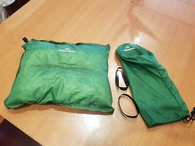 AU16 • Buy Kathmandu Self Inflating Air Travel Pillow Green Excellent Condition