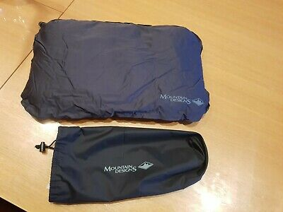 AU16 • Buy Mountain Designs Self Inflating Air Travel Pillow Black Excellent Condition