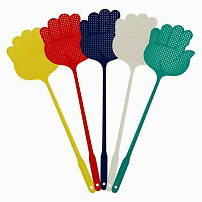AU4.79 • Buy 5pcs Mosquito Fly Swatter Handle Extendable Insect Swat Killer Bug Catcher Tool