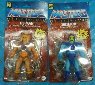 $49.79 • Buy HE-MAN & SKELETOR 5.5  MASTERS UNIVERSE MOTU ORIGINS 2020 WALMART NEW Lot