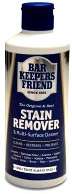 £4.99 • Buy Bar Keepers Friend Multi Surface Household Cleaner & Stain Remover Powder 250g