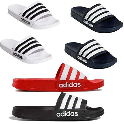 AU35.65 • Buy Adidas Mens Adilette Sliders Cloudfoam Slip On Slides Summer Pool Sandals