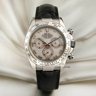 $ CDN30726.74 • Buy Rolex Daytona 116519 Pink Mother Of Pearl Dial 18k White Gold