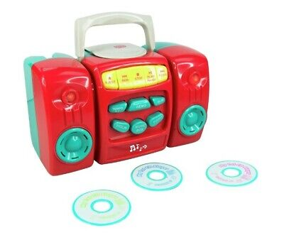 £20.99 • Buy Red & Blue Shade CD Player Kids Birthday Party Gift Musical Toy Game Chad Valley
