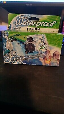 £6.18 • Buy FujiFilm Disposable Quick Snap Waterproof Camera 27 Exp.