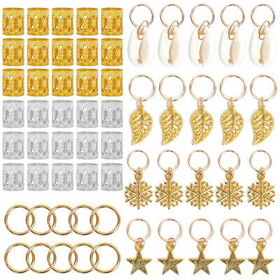 $10.29 • Buy 80pcs High Quality Metal Hair Rings Hair Braids Hair Decoration Accessories