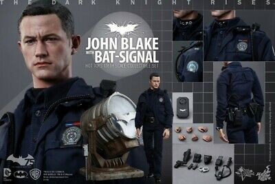 $ CDN481.05 • Buy Hot Toys 1/6 Batman Dark Knight Rises JOHN BLAKE With Bat-Signal Figure MIB