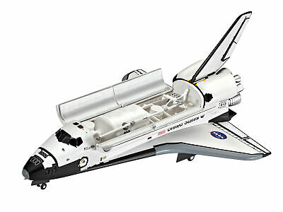 NASA Space Shuttle Atlantis Revell Model Set Including Glue Paint & Brush 1:144 • 22.99£