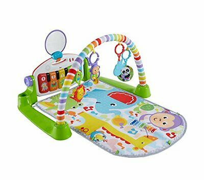 £62.99 • Buy Fisher-Price Kick And Play Piano Gym, New-Born Baby Play Mat With Activity
