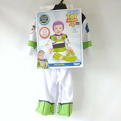 £12.03 • Buy Buzz Lightyear Toy Story 4 Halloween Costume Baby/Toddler SIZE CHOICE