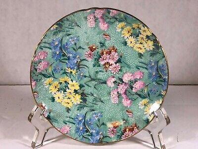 Shelley China Demi Saucer In Glorious Melody Chintz Pattern No. 13453 • 11.79£
