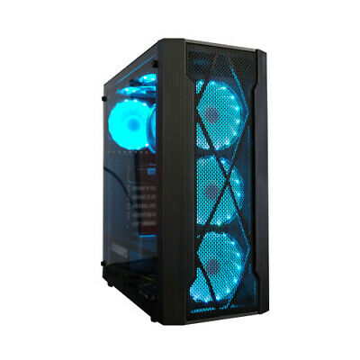 AU854.99 • Buy Gaming Desktop Quad Core I7 16Gb 240 Gb SSD 1TB HDD Nvidia GT730 RGB Case WIFI