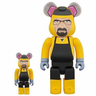 $460 • Buy Bearbrick Walter White Pink Bear400%(11inch) 100% (2.7inch) Collection Figures