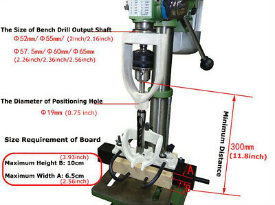 £85.22 • Buy Woodworking Hole Drill Bit Mortising Machine Mortising Chisel For Bench Drill US