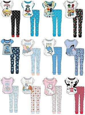 Ladies Official Character Pyjamas PJs Set Size 8-10 / 12-14 / 16-18 / 20-22 • 10.89£