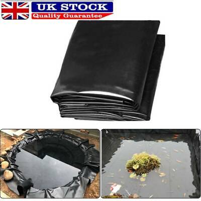 Fish POND LINER Garden Pond Landscaping Pool Plastic Thick Heavy Duty Waterproof • 9.78£