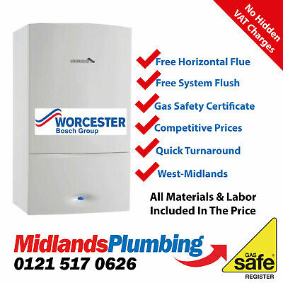 Worcester Greenstar 34CDI Classic Combi Boiler Supplied & Fitted • 1,899£