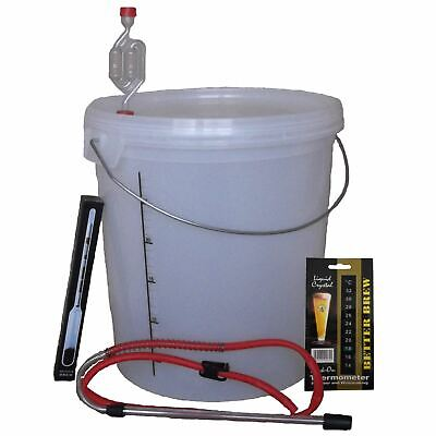 Complete Homebrew Starter Kit - 33L For Beer, Wine, Cider - Full Beginners Set • 36.73£