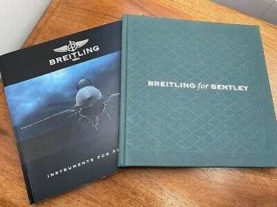 £25 • Buy Breitling 2011 French Watch Catalogue Plus 2007/8 French Breitling For Bentley