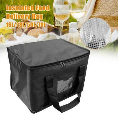 Food Delivery Insulated Bags Pizza Takeaway Thermal Warm/Cold Bag Ruck • 10.69£