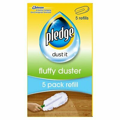 4 X Pledge Fluffy Dusters Refills - Pack Of 5 • 21.99£