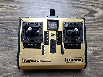 $39.99 • Buy Futaba FP-T4FG Radio Control With FP-TF-AM Module 72 MHz Untested For Parts