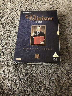 Yes Minister - Series1-3 - Complete (DVD, 2004) • 5£