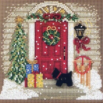 $12.99 • Buy Home For Christmas Cross Stitch Kit Mill Hill 2011 Buttons & Beads