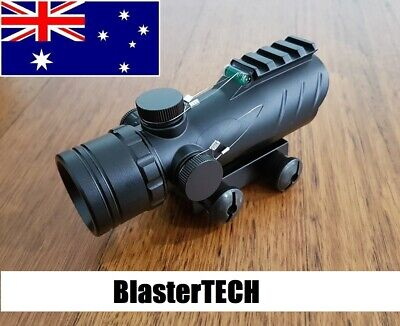 AU53 • Buy ACOG Style Graphic Red Dot Holographic Sight Scope Airsoft For Nerf Blaster