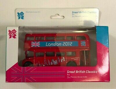 $ CDN20.04 • Buy London 2012 Olympics Great British Classics Red Double Decker Bus - NEW