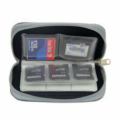 SD SIM CF Card Holder Carrying Bag 22-Slot Memory Card Case  For Micro SDHCUK • 2.09£