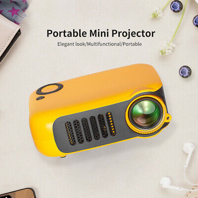 AU53.99 • Buy Mini Portable LCD Projector HD 1080P HDMI Home Theater Projectors AU Plug