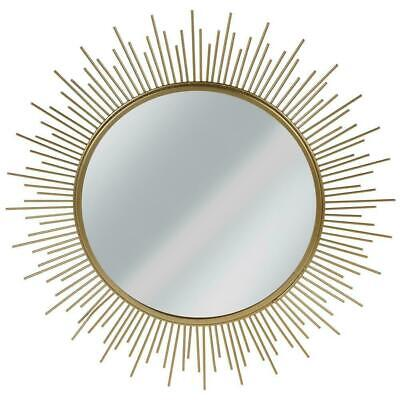 Decorative Wall Mirror In Golden Frame Round Wall Mirror Large Wall Mirror  • 23.50£