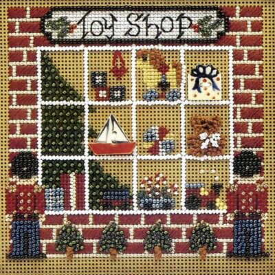 $15.99 • Buy Toy Shop Beaded Cross Stitch Kit Mill Hill 1995 Buttons & Beads Winter