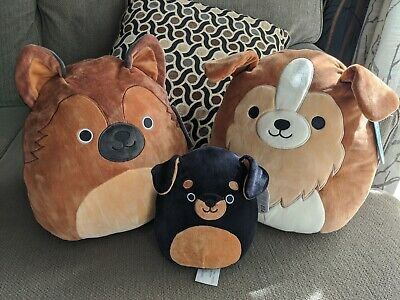 $ CDN80 • Buy Squishmallows 12  Dog Bundle Lot Set Mario Andres Mateo Collie German Shepherd