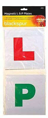 4pc Magnetic L & P Plates For Learner And New Driver -2*L & 2*p  • 2.25£