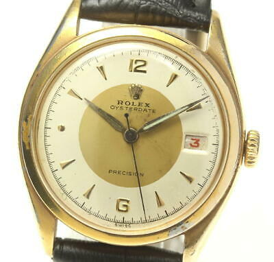 $ CDN2030.42 • Buy ROLEX Precision Oyster Date 6094 Antique Hand Winding Men's_546203