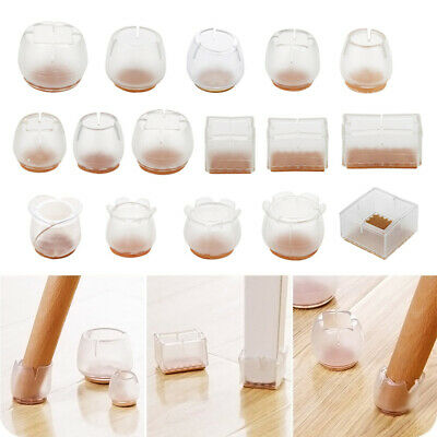 AU14.89 • Buy 10x Silicone Chair Leg Caps Feet Pads Furniture Table Feet Cover Floor Protector