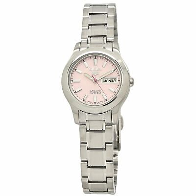 $ CDN118.15 • Buy Seiko 5 SYMD91 Automatic 21 Jewels Pink Dial Stainless Steel Watch SYMD91K1